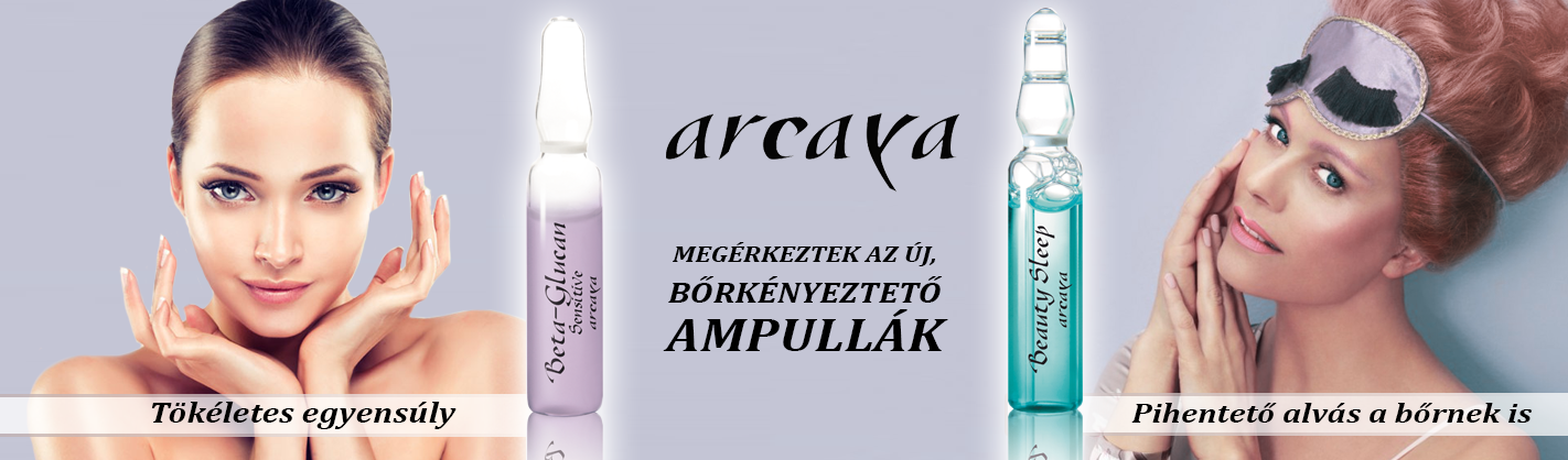 Új Arcaya ampullák